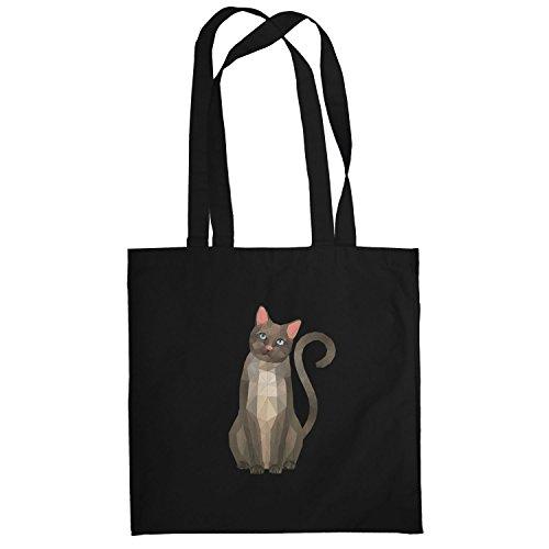 Texlab–Poly Cat–sacchetto di stoffa Nero