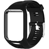 Ming Bracelet de Remplacement Changement 25cm en en Gel de Silicone pour TomTom 2/3 Series GPS Watch