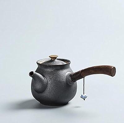 Théières bouilloire Production de sculpture à la main en céramique 200ML Convient pour le thé et le café Profitez de la beauté orientale Emballage épais et délicat Livraison sûre