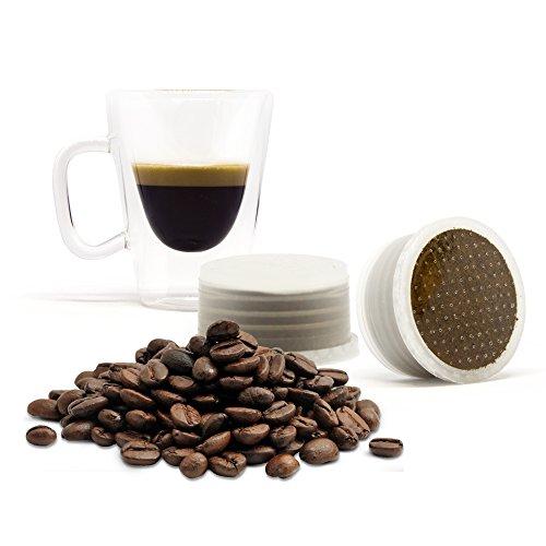 ORO DI NAPOLI Lovespresso - 50 Capsule di caffè in capsule Compatibili LAVAZZA ESPRESSO POINT® - INTENSITA' 10