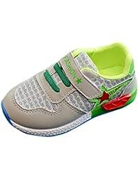 zapatos bebe niña primeros pasos invierno baratos Switchali zapatos bebe niño con suela zapatos nina vestir led casual otoño zapatos bebes chica Calzado deportivo niña