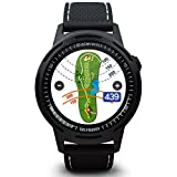 GolfBuddy W10 Golf GPS Watch, Black