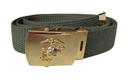 Mil-Tec US Hosengürtel Marine Corps, oliv -
