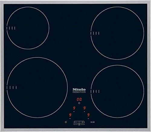 Preisvergleich Produktbild Miele KM 6112 Elektro-Kochfeld / Induktion / Breite: 55.1 cm / Knebelbedienung / 5 Kochstellen