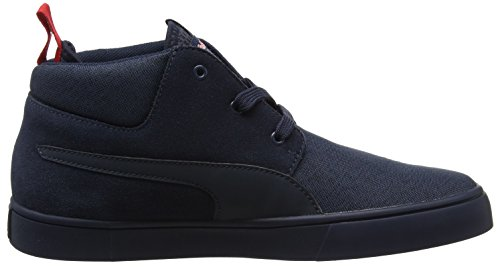 Puma Rbr Desert Boot Vulc, Sneakers Basses Mixte Adulte Bleu (Total Eclipse-chinese Red 01)