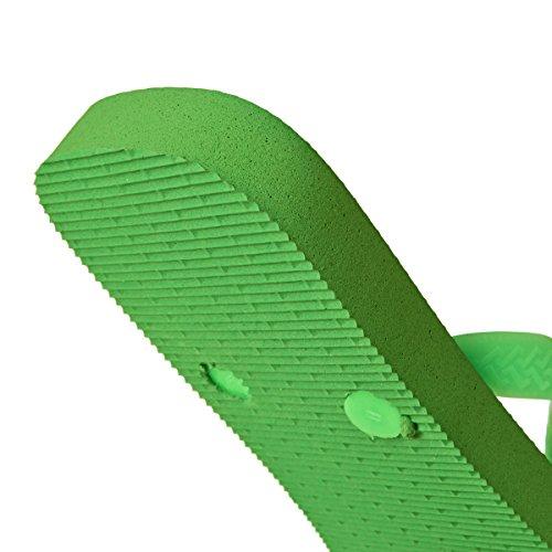 Havaianas Top, Infradito Unisex Adulto Green Neon