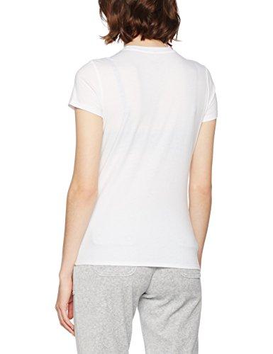 Juicy Couture Spring Bouquet Short Sleeve, Pull de Sport Femme Blanc