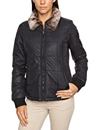 Vans Outta Sight con cremallera chaqueta para mujer, mujer, Outta Sight Jacket, Onyx