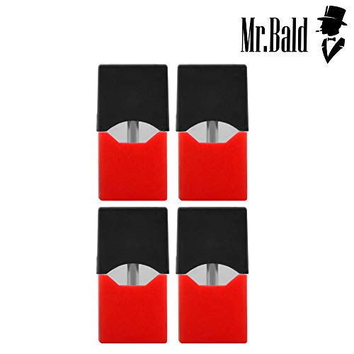 【2018 Latest】Mr bald Mr.Bald J Pods (4PCS) / Erdbeere MEHRWEG
