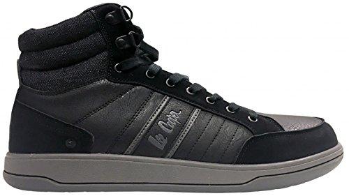 Lee Cooper Workwear S1P Inj Moulded Boot - Calzado de protección unisex, Black, 10 UK