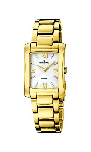 Candino - C4557/1 - Montre Femme - Quartz - Analogique - Bracelet Acier inoxydable doré