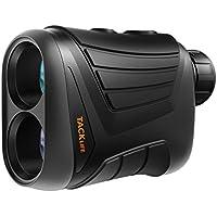 Télémètre Golf 800m Tacklife MLR01 /Télescope Monoculaire 875yd /Grossissement 7*24mm /Précision de Distance 1m ,de Vitesse 5km/h ,d'Angle 1 °/Mesure Continue et de Hauteur /Batterie au Lithium Rechargeable 3.7V 750mAh /187g /IP54