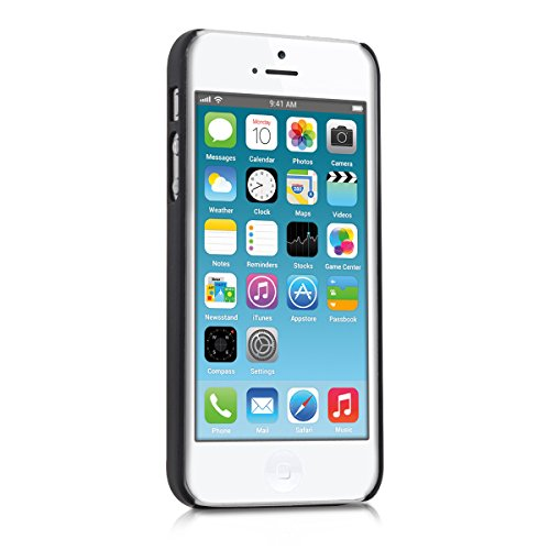 kwmobile Hülle für Apple iPhone SE / 5 / 5S - Backcover Case Handy Schutzhülle Aluminium - Hardcase Cover Silber .Silber