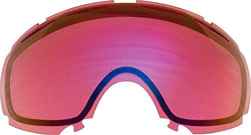 Zero Ersatzgläser für Oakley Canopy Schneebrille, Light Rose Mirror