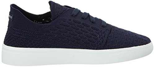 ESPRIT Damen Lizette Lace Up Sneakers Blau (400 Navy)