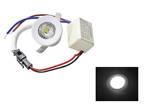 Faretto led ad incasso 1 watt mini