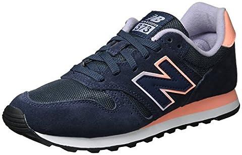 New Balance Damen 373 Modern Classics Sneakers, Blau (Navy), 40 EU