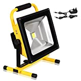 Best Work Lights - 10W Rechargeable LED Portable Work Flood Light, T-SUNRISE Review