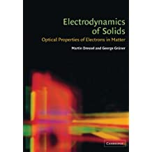 Electrodynamics of Solids Paperback: Optical Properties of Electrons in Matter
