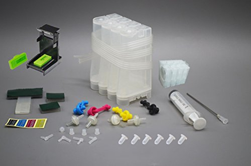Printme CISS Ink Tank with One Way Ink Valve for All HP Printer + Accessories