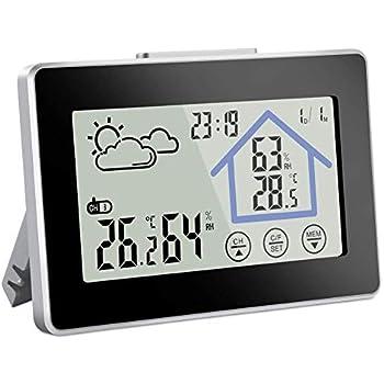 Außenthermometer schwarz 27 cm außen Thermometer schwarz 50 °C neu 30 °C bis
