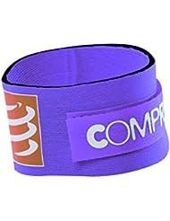 Compressport - Timing Chip Strap, color purple
