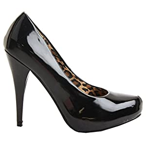 064bbcb241ec New Ladies Womens Platform Stiletto Party Prom Wedding MID HIGH Heel Pumps  Court Shoes Size ...