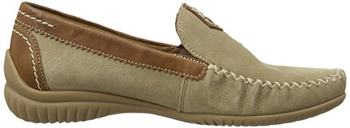 GaborCalifornia - Mocassini donna Beige (Beige (Corda Nubuck/Copper Leather))