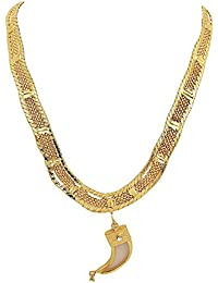 Glory Jewels Gold plated Chain With pendant For Men.