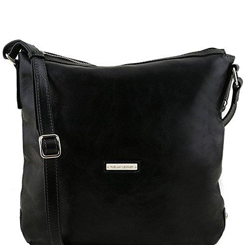 Tuscany Leather Alice - Borsa donna shopper in pelle - TL141480 (Nero) Nero