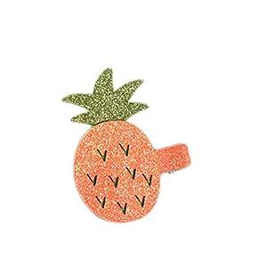 Beishengda Unbefleckte Kinder Haare Clips Haare Ornamente Fruchtförmige Haarnadel Mädchen Accessoires