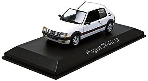 Voiture Miniature Peugeot 205 - Norev - 471702 - Véhicule Miniature -