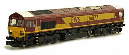 Dapol 2D-007-003 EWS Class 66 200 Diesel Locomotive for sale  Delivered anywhere in UK