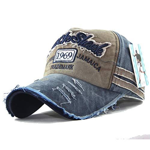 ERKEJI Cap Hut Baseballmütze Baumwolle gewaschen Sonnenhut