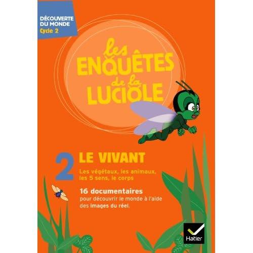 Les enquêtes de la Luciole Cycle 2 - Le Vivant - DVD