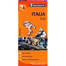 Italy South Map (Michelin Regional Map)