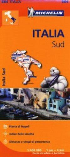 Italy South Regional Map 564 (Michelin Regional Maps) por Michelin