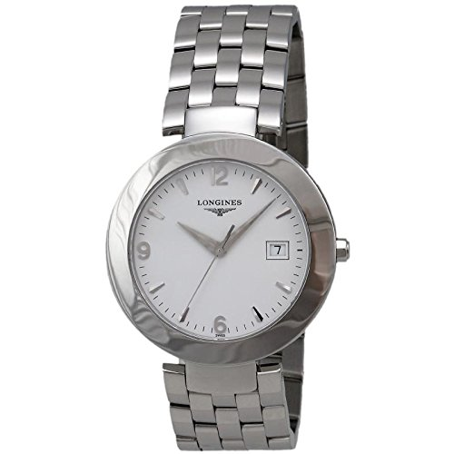 Longines Dolcevita l56754166 Quartz Watch (Rechargeable) quandrante White Strap Stainless Steel