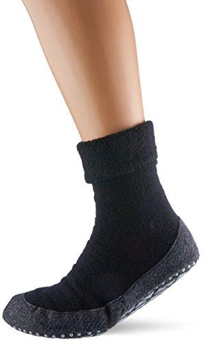 FALKE Herren Socken Cosyshoe, schwarz (black 3000), 43-44, 16560