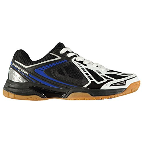 Slazenger Hombre Indoor Zapatillas De Deporte Negro/Azul