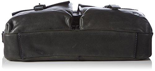Otto Kern Laptoptasche Amadeo 5 Herren Umhängetaschen 40x27x9 cm (B x H x T) Schwarz (Black)