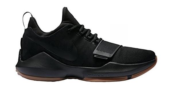 9b24283d272 NIKE PG 1 Basketball Shoes Paul George Black/Brown New 878627-004 ...