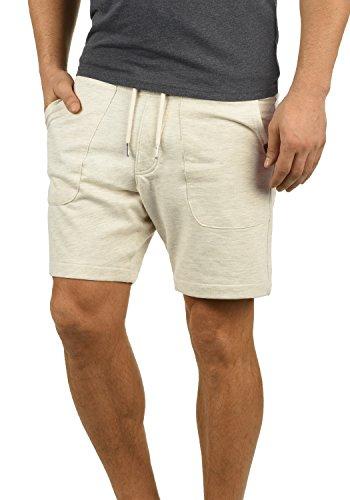 Blend Mulker Herren Sweatshorts Kurze Hose Jogginghose Mit Kordel Regular Fit, Größe:M, Farbe:Sand Mix (70810)