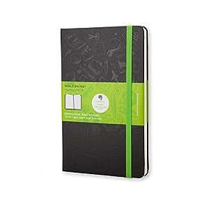 Moleskine Large Ruled Hard Evernote Notebook - Black