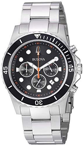 Bulova Armbanduhr 98B326 (Bulova Schwarz Uhren Für Männer)