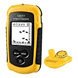 LUCKY Ecoscandaglio Da Pesca Wireless Sonar Fish Finder