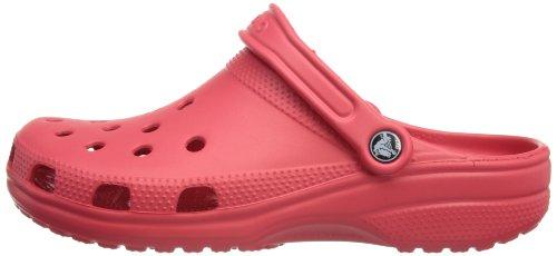 Crocs Classic Unisex Clogs Rosso