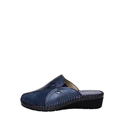 Cinzia Soft IAR011 001 Pantoffel Damen Blau Aojr1Z0vT4