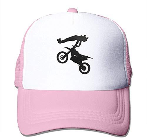 Voxpkrs Motocross Dirt Bike Adjustable Mesh Trucker Baseball Cap Men Women Dad Hat Cool5504
