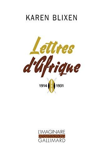 Lettres d'Afrique: (1914-1931)